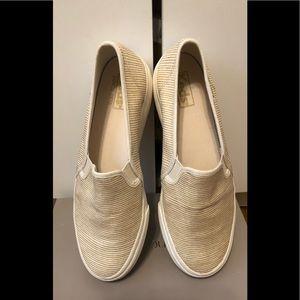 Keds Double Decker slip on sneakers size 8 EUC